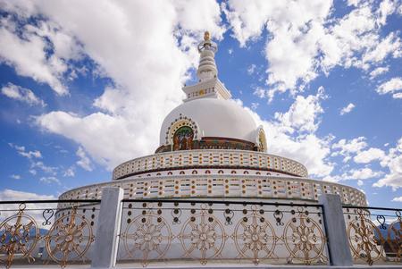 Shanti Stupa, Leh Ladakh, India