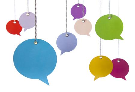 Hanging Speech Bubbles