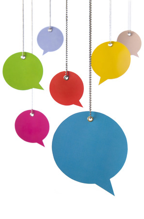 Hanging Speech Bubbles