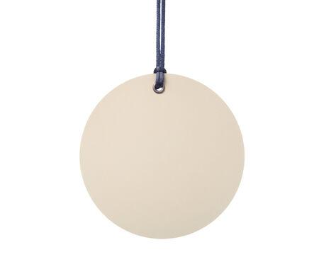 Hanging blank tag