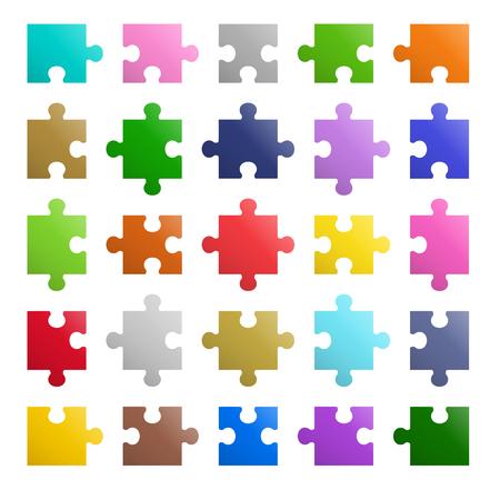 25 pieces Puzzle design