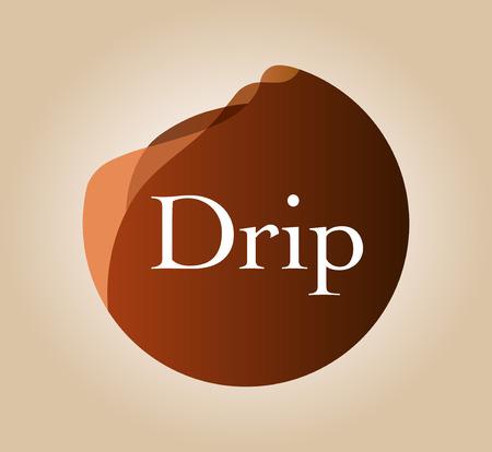 Drip coffee extraction image Çizim