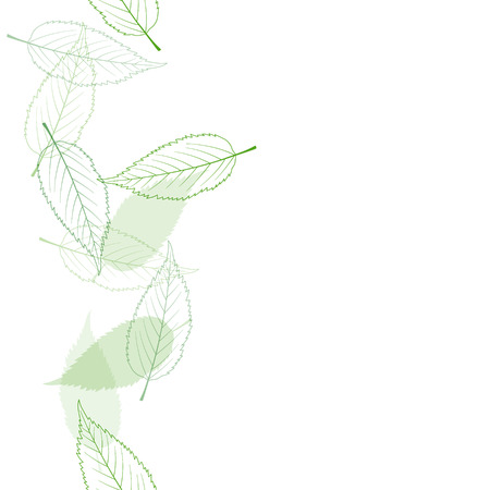 Fresh green seamless background material Foto de archivo - 117685250