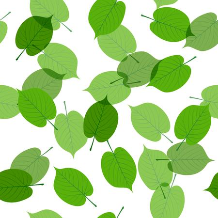 Fresh green seamless background material Foto de archivo - 117685249