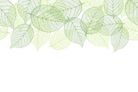 Fresh green seamless background material Foto de archivo - 117685253