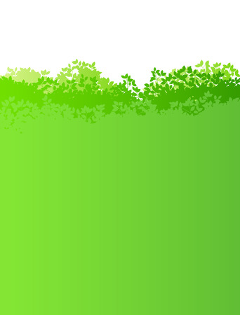 Fresh green and sun leaves background material Vectores