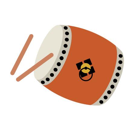 Japanese drum icon
