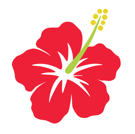 Red Hibiscus icon
