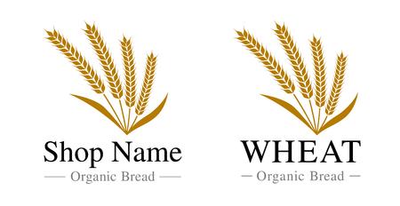 Wheat  symbol mark material set