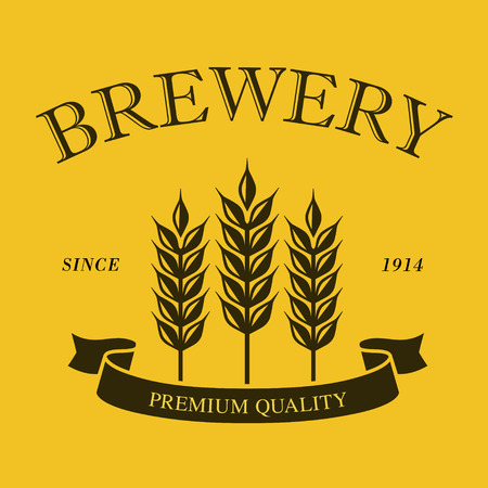 Wheat Brewery logo mark material