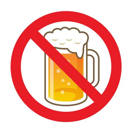 Stop Drink Sign, icon, symbol