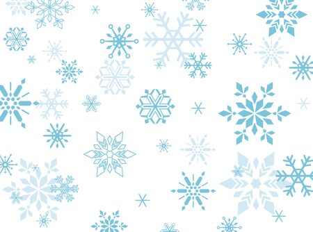 Snow Crystal, Snowflake, background material