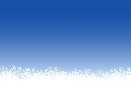 Snow Crystal, Snowflake, Sky background