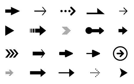 Arrow Vector design icon, collection