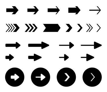 Arrow Vector design icon collection