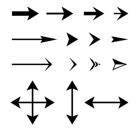 Arrow Vector design icon collection