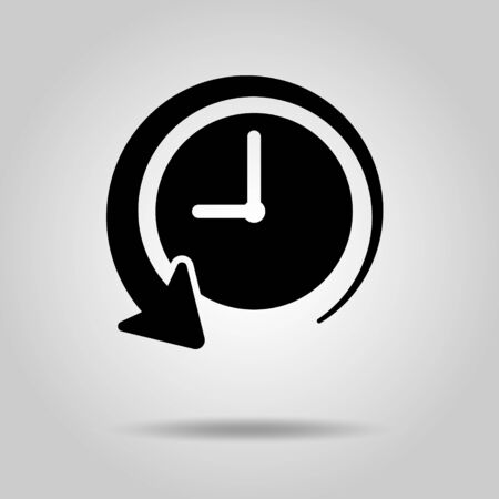 The past of time History Clock icon