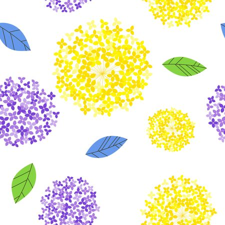 Floral design seamless pattern background material