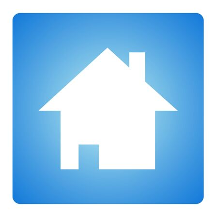 House icon in blue square button