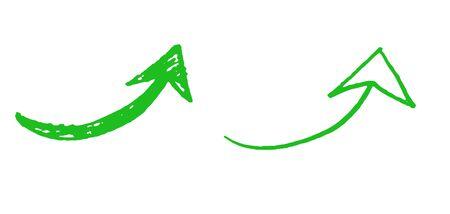 Hand drawn arrow icon set 写真素材 - 149426437