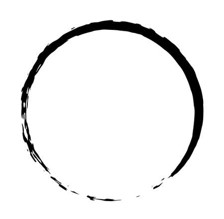 Brush texture in a circle