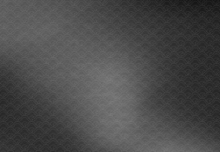 Japanese-style black background with traditional pattern Standard-Bild