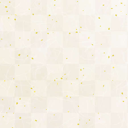 Japanese paper texture background with Checkered pattern