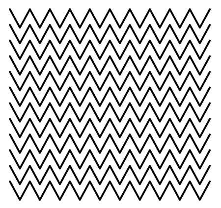 Wave zigzag line pattern design