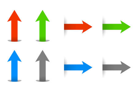 arrow icon to move forward set