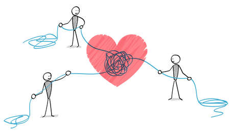 People who untie the strings of heart