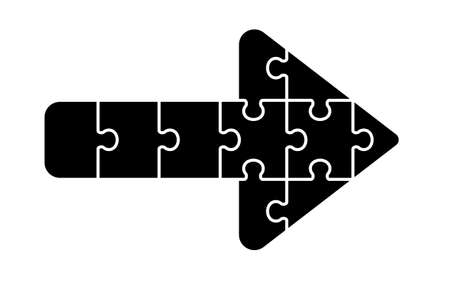 Allow icon by combination of puzzle