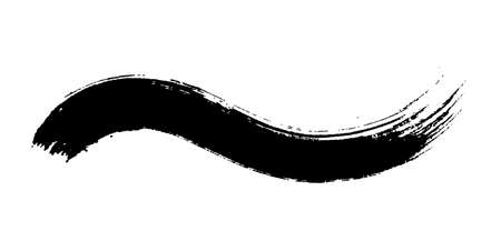 Japanese style Waveform brush with Grange texture