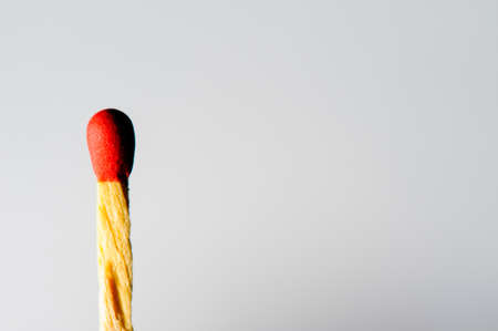 matchstick: A matchstick with isolated background Stock Photo
