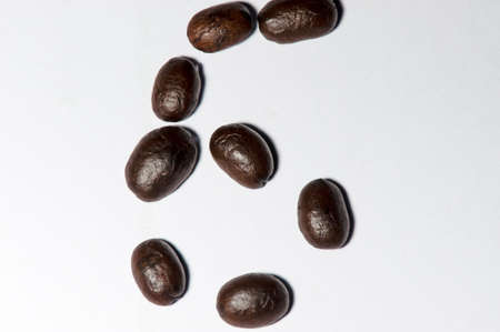 to designate: Coffee beans set is  symbols number six