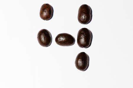 to designate: Coffee beans set is  symbols number four