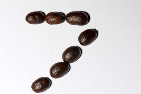 top seven: Coffee beans set is  symbols number seven