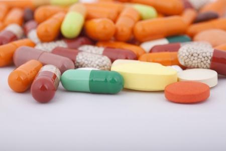 A lot of medical pills