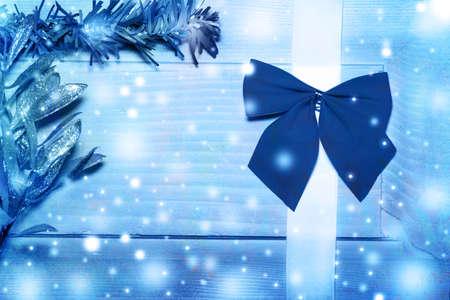 Christmas card, toned images studio photo