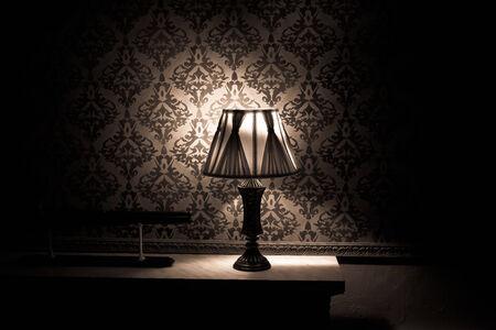 Vintage room interior toned image studio shooting photo