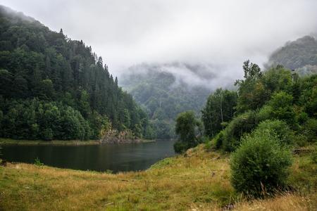 Amazing Carpathian Mountains of Romania. Explore a beautiful nature. Фото со стока