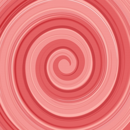 whirlpools: Abstract glossy vector yogurt cream swirl red and white background