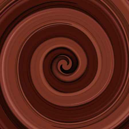 chocolate swirl: Abstract glossy vector chocolate swirl background.eps