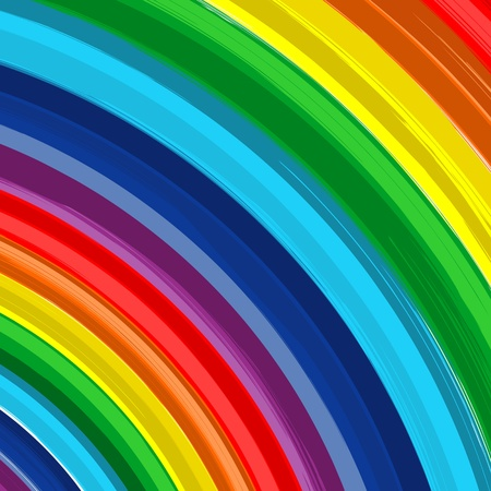splodge: Art rainbow abstract background 7