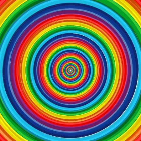 Art rainbow circle abstract background 10
