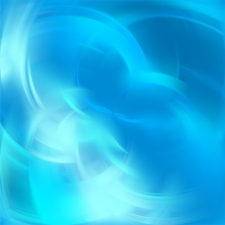 Abstract blue light background with blurred lines