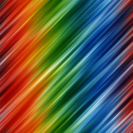 Abstract rainbow colors background with blurred diagonal lines Stock Photo