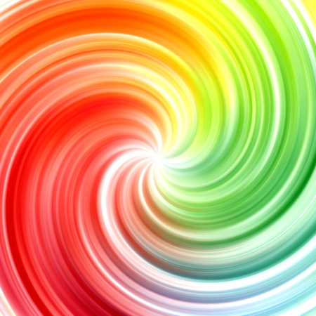 whirlwind: Abstract swirl rainbow colors background