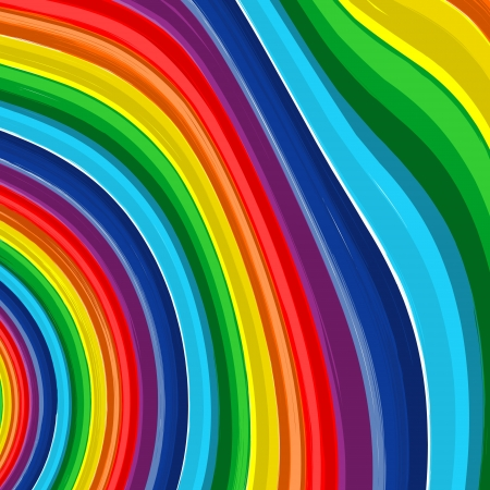Art rainbow abstract  background illustration Stock Vector - 16892110