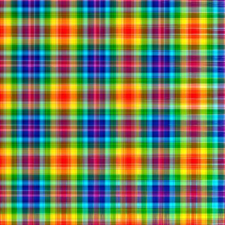Abstract rainbow checkered geometric pattern background illustration illustration