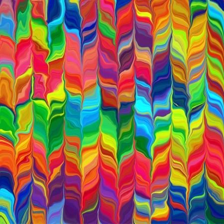 虹のカラフルなパターンの背景図 3 抽象的な